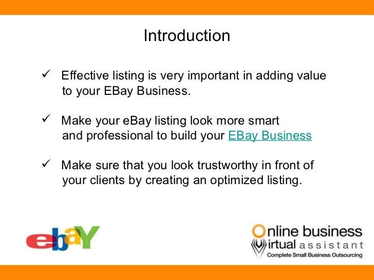 Business Plan Ebay - Ebay business plan template