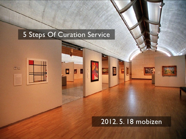 5 steps of curation service