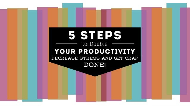 Rock Your Blog, End Anxiety and Double Your Blogging Productivity!
