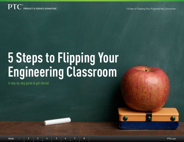 PTC.comPage:	 1	2	3	4	5	6	7	8 5 Steps to Flipping Your Engineering Classroom A step-by-step guide to get started 5 Steps t...