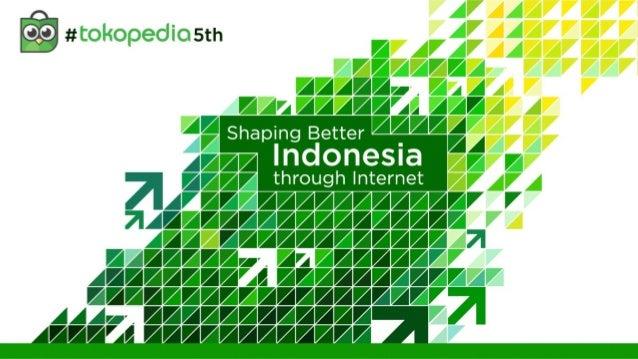Statistik 5th anniversary tokopedia di Ecommerce Indonesia