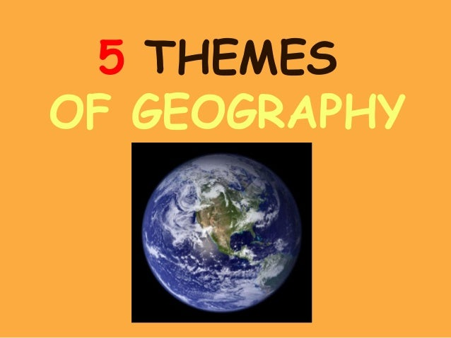 global thematic essay on geography and society