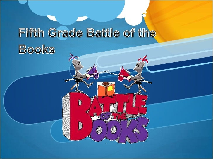 Fifth Grade Battle of the Books<br />
