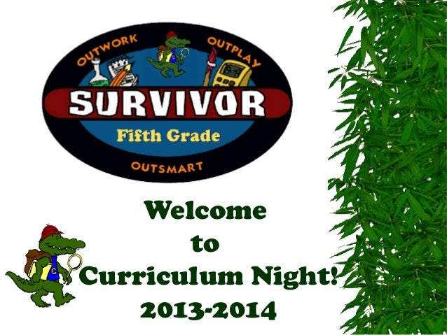 5th Grade Curriculum Night Presentation 2013-2014