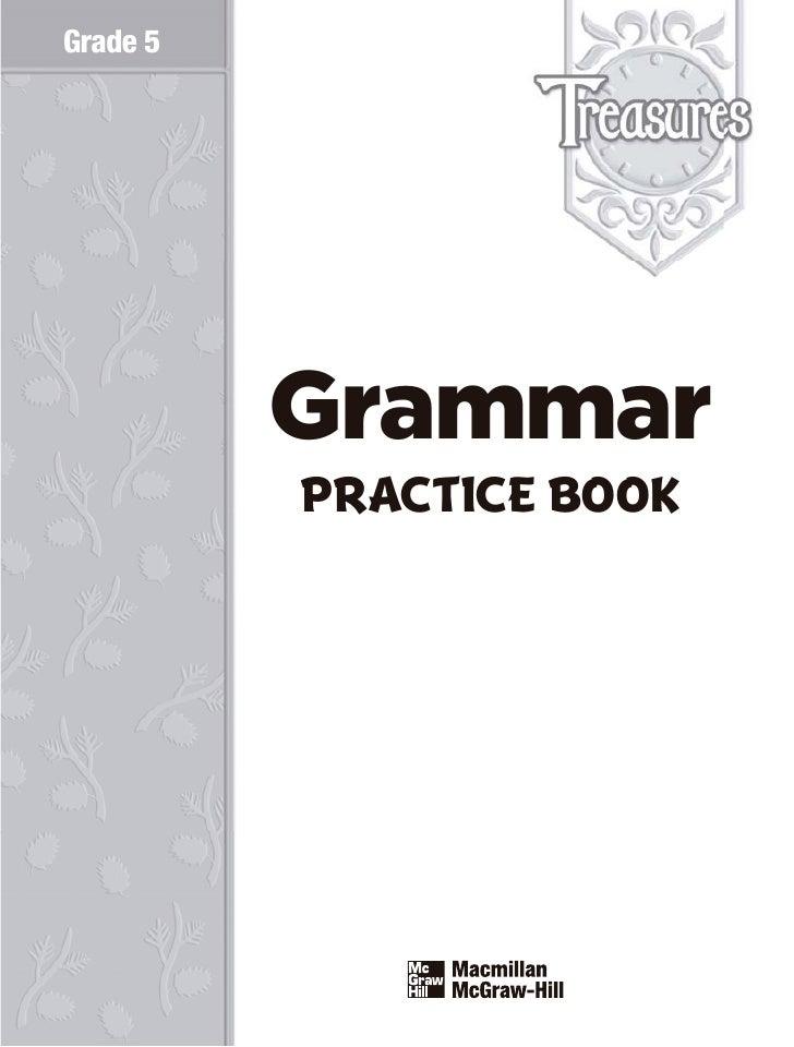 Grade 5          Grammar          PRACTICE BOOK