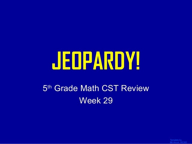 Math Review 5th Grade Jeopardy on Math Staar Jeopardy 4th Grade