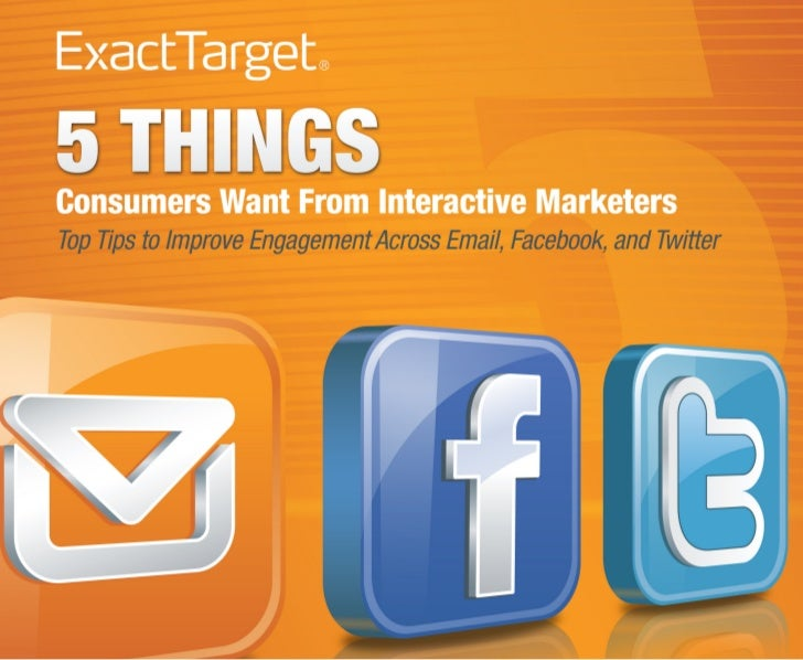 5 Things Consumers Want Final