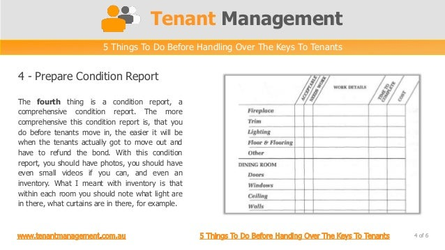 5 Things To Do Before Handing Over The Keys To Tenants