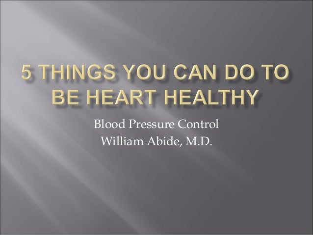 5 things you can do today to be heart healthy