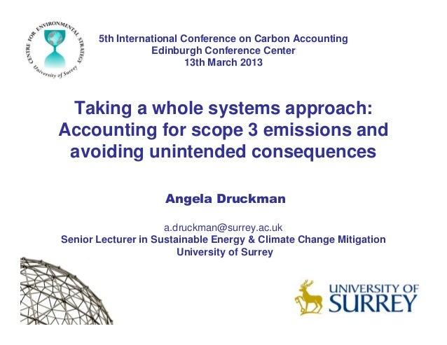 5th International Conference : Angela Druckman