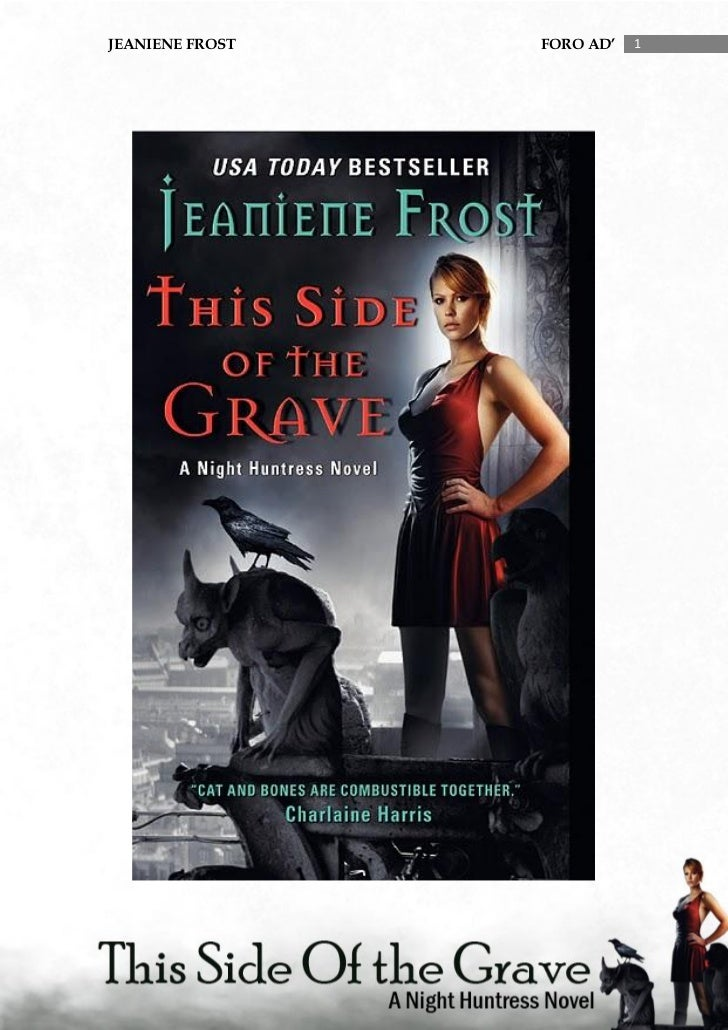 (5) this side of the grave - Jeaniene Frost