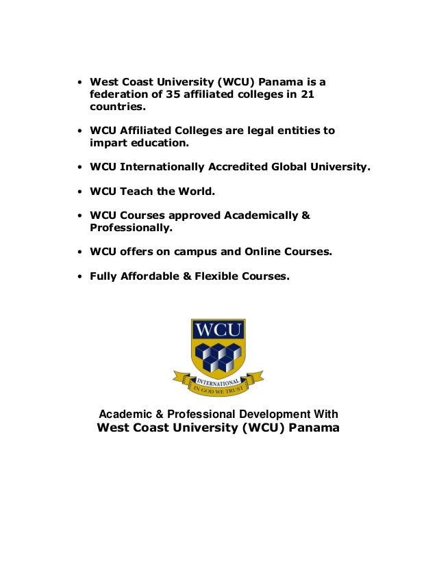 West Coast University Panama
