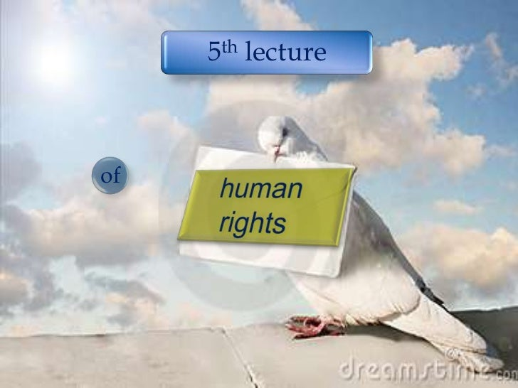 human rights<br />