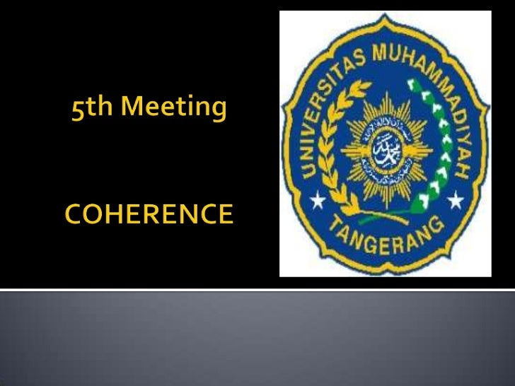 5th meeting