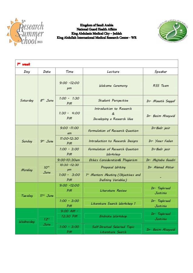Kingdom of Saudi ArabiaNational Guard Health AffairsKing Abdulaziz Medical City – JeddahKing Abdullah International Medica...