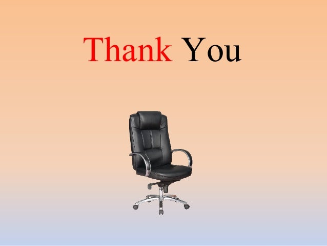 thank you buying an office chair