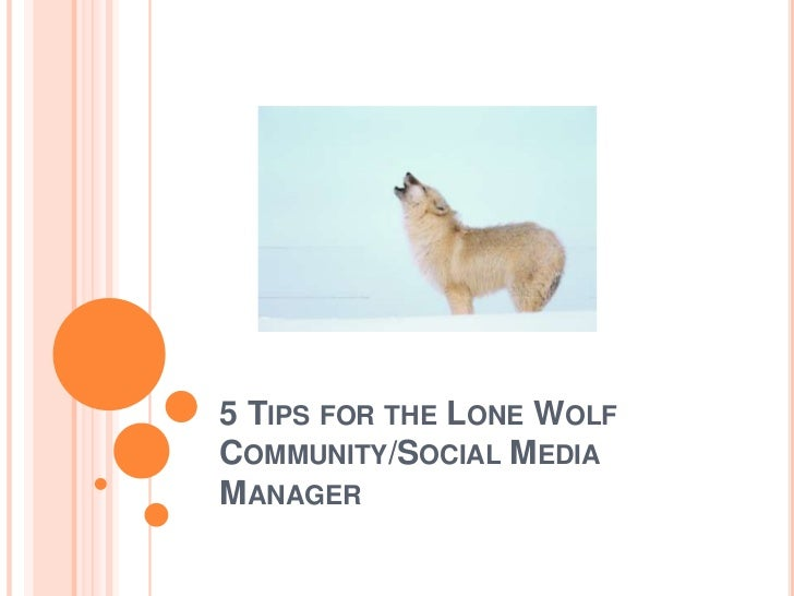 5 Tips for the Solo Community Manager or Social Media Practitioner