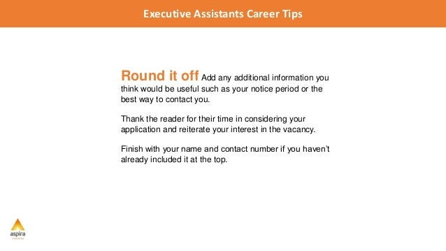 assistant career tips 5 tips for writing a winning cover letter