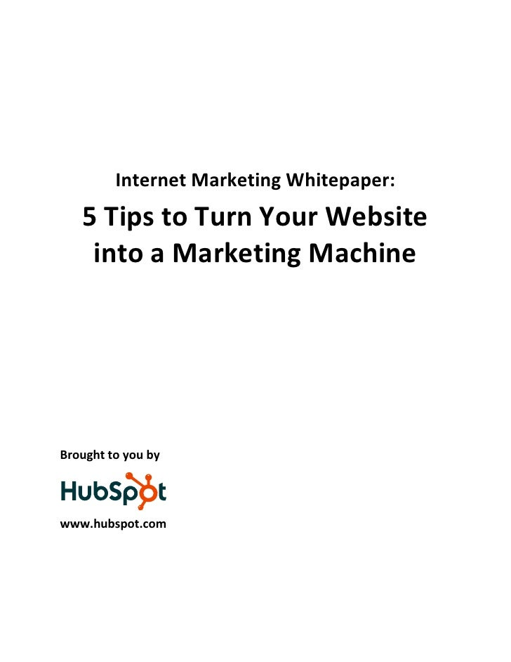 5tips to turn_your_website_into_a_marketing_machine_hubspot