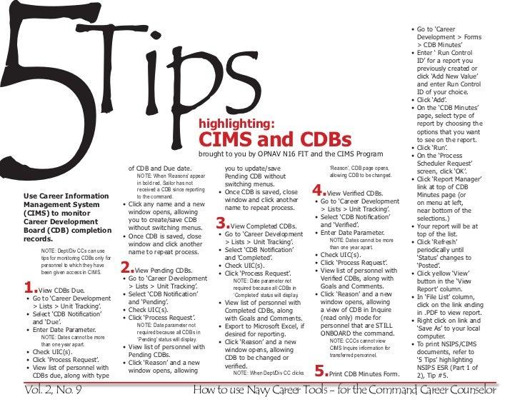 5 tips (v2 n9 cims cbd monitoring)