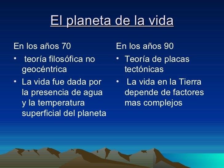 El planeta de la vida 1