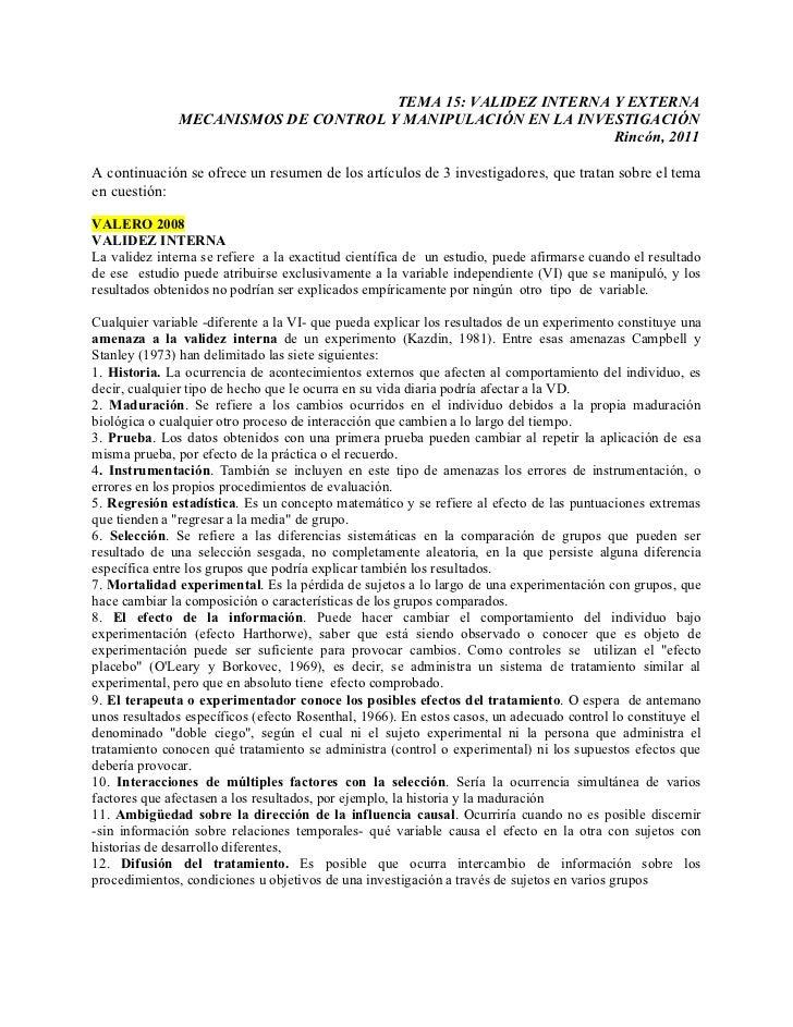 5to validez y control resumen