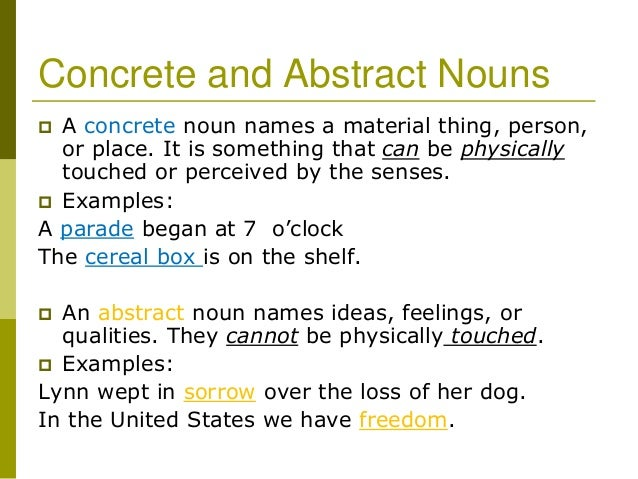 All Worksheets Concrete Nouns And Abstract Nouns Worksheets – Abstract Noun Worksheet