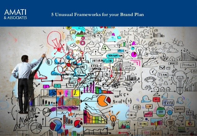AMATI & Associates 1 5 Unusual Frameworks for your Brand Plan