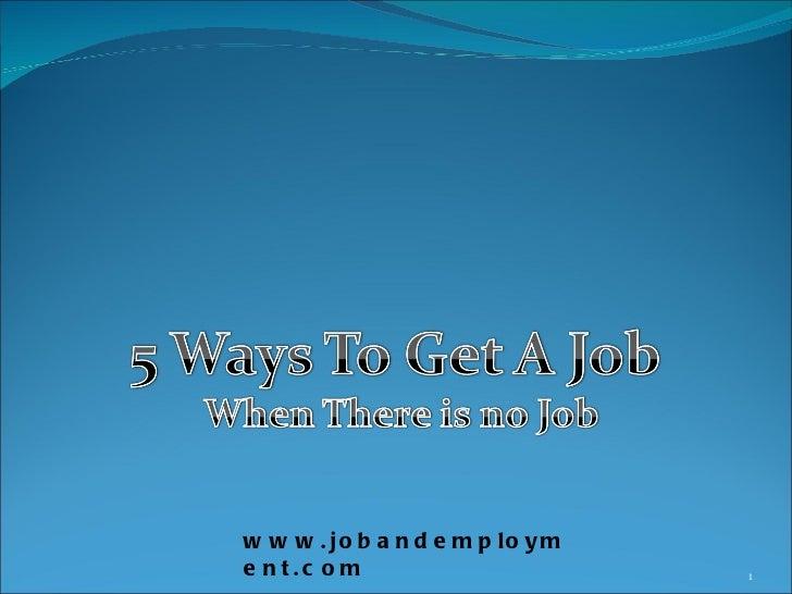 www.jobandemployment.com