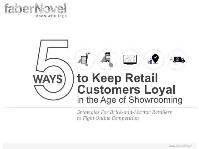 to Keep RetailCustomers Loyalin the Age of ShowroomingStrategies For Brick-and-Mortar Retailersto Fight Online Competition...