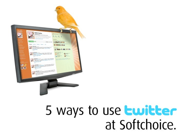 5 Ways To Use Twitter (at Softchoice)