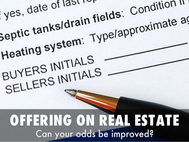 5 ways you can increase your odds when offering on real estate