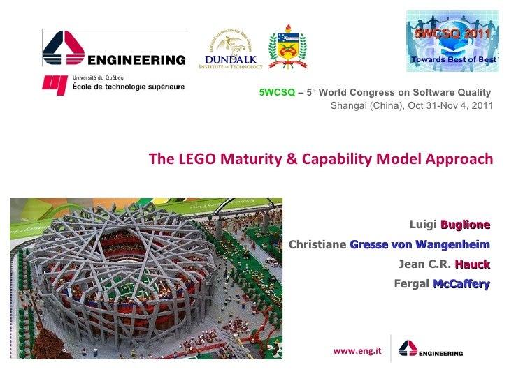 The LEGO Maturity & Capability Model Approach