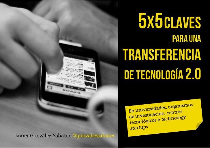 5X5 Claves                                                     para una                                           transfer...
