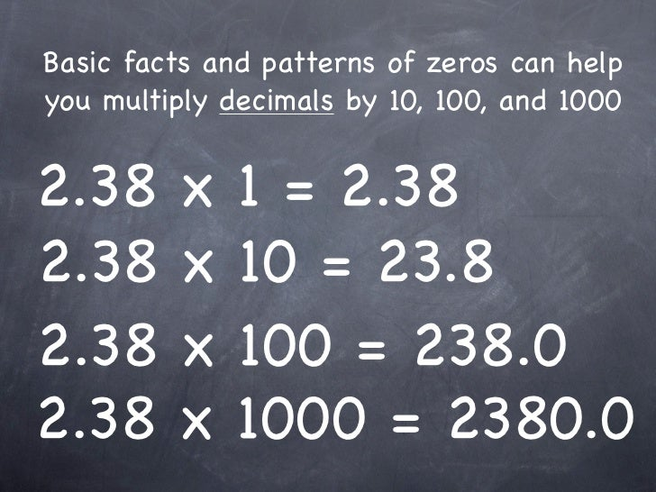 Number Names Worksheets : multiply and divide by 10 and 100 ...