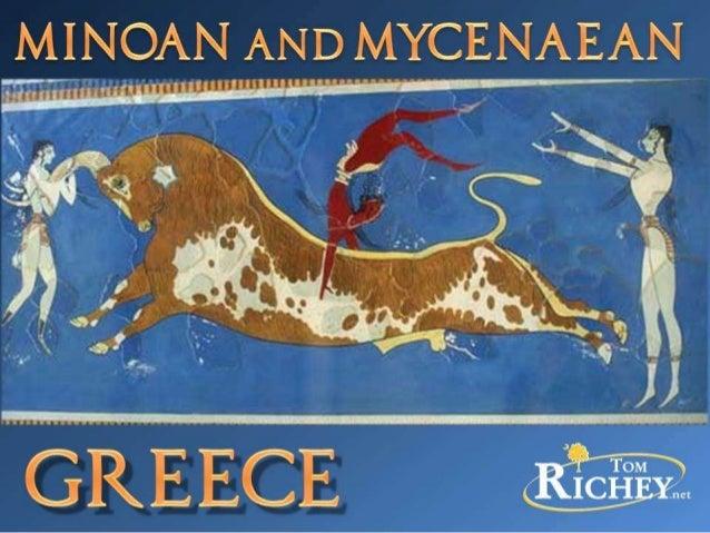Minoan and Mycenaean Greece (Ancient History)