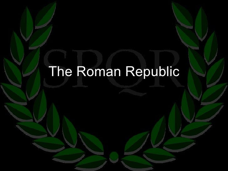 6.1   the roman republic