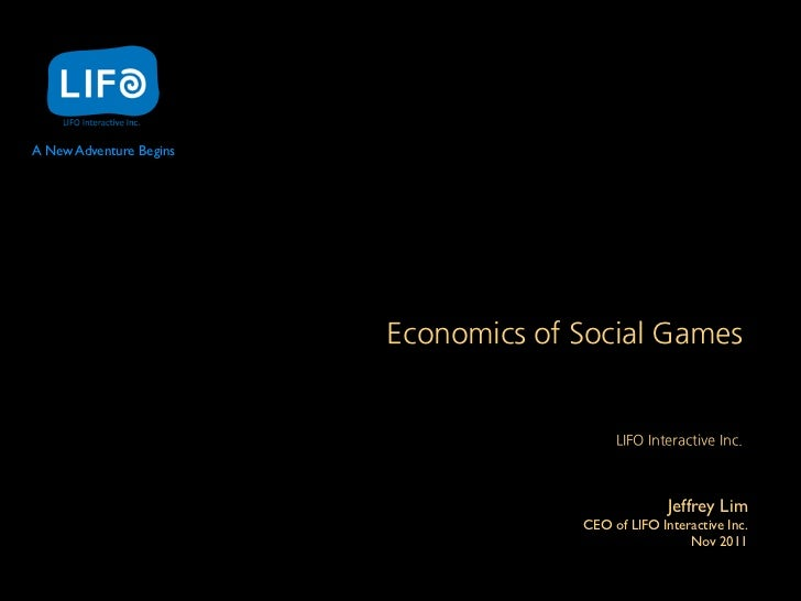 A New Adventure Begins                         EconomicsofSocialGames                                                     ...