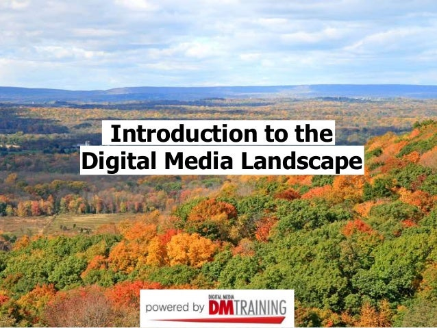 Introduction to the Digital Media Landscape