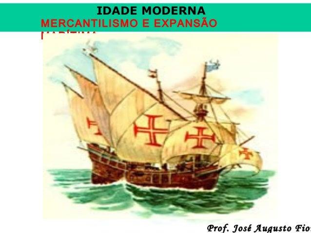 6. mercantilismo e navegações