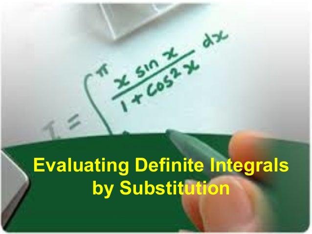 U-substitution homework