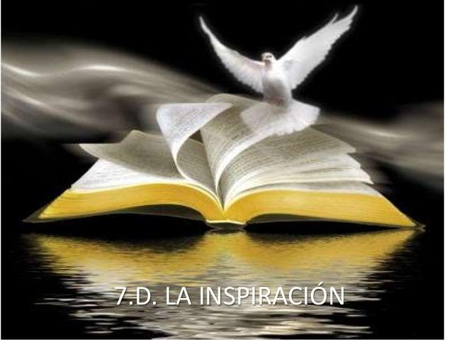 6.d. la inspiración
