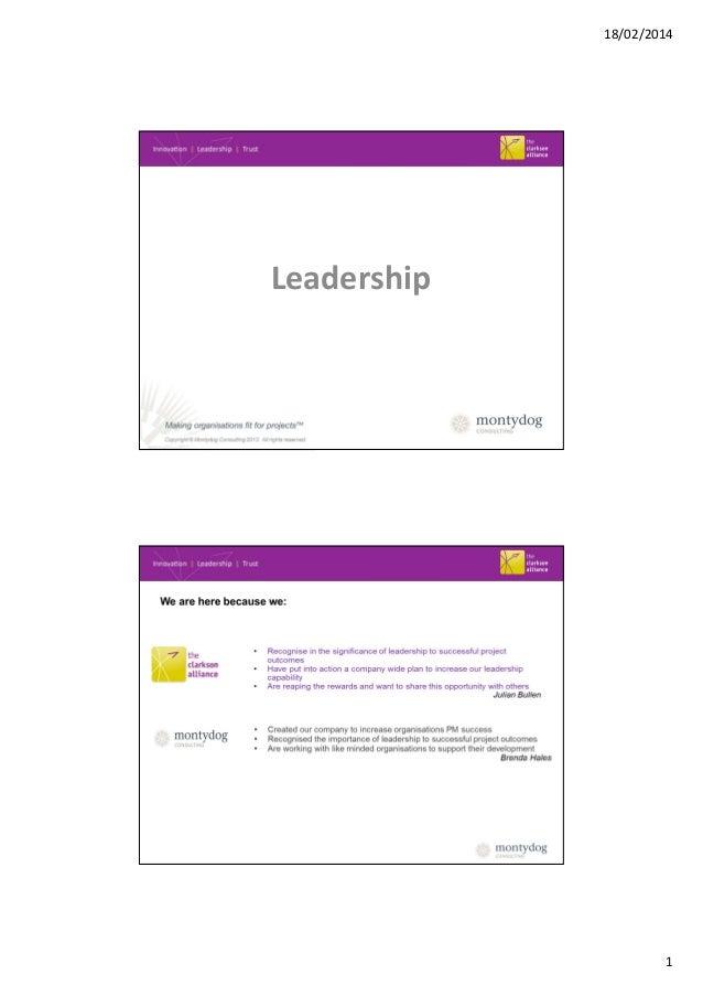 18/02/2014  Leadership  1