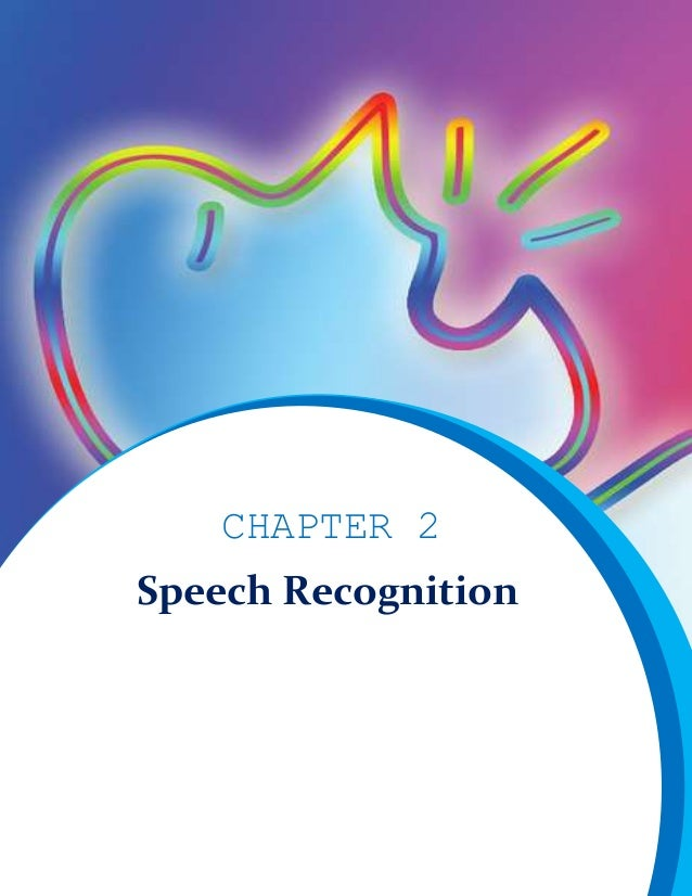 CHAPTER 2 Speech Recognition