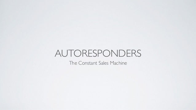 How To Use Autoresponders For Your Business