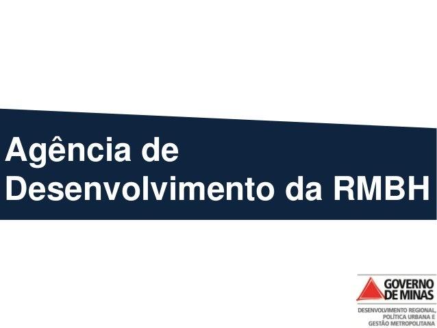 Agência de Desenvolvimento da RMBH