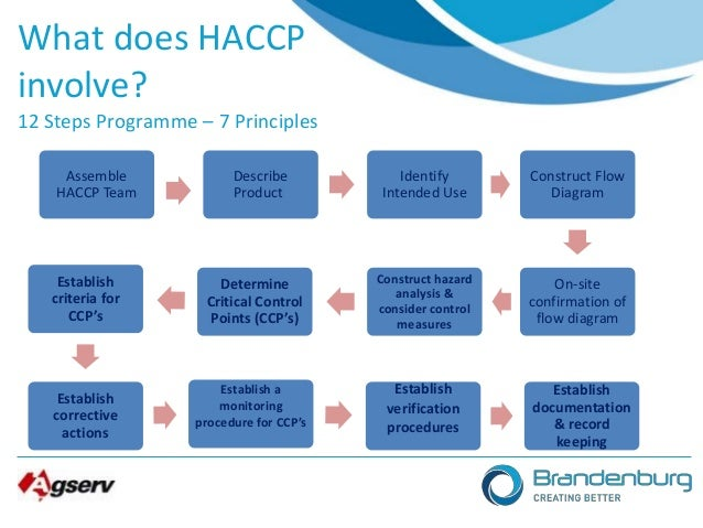 The Procedures of Hazard Analysis and Critical Control Points (HACCP) System