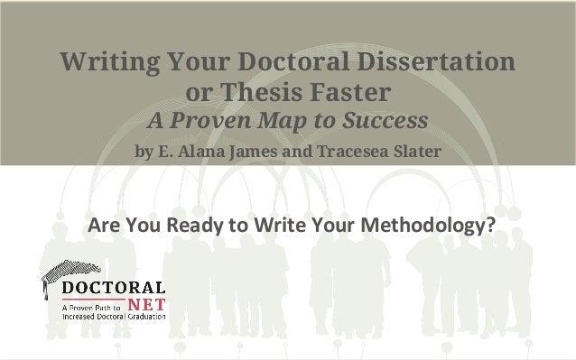Doctoral dissertation write help to success