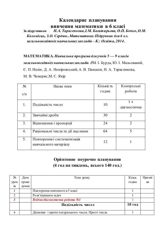 Скачати математика в школах україни