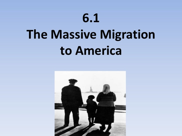 6.1 immigration